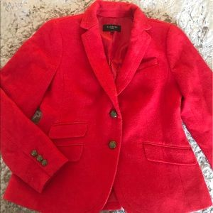 Wonderful red wool jacket by Talbots❤️